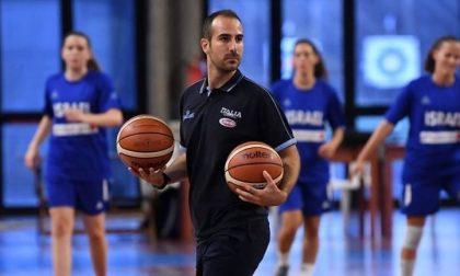Jacopo Arrobbio dell'Imperia Basket nominato preparatore fisico della Nazionale Maschile U14