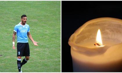 Grave lutto per l'ex giocatore della Sanremese Luca Caboni
