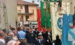 Delegazione del Comune di Diano Marina oggi ai funerali di Gimondi