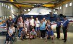 I ragazzi della Giovanna D'Arco in visita al Nucleo Elicotteri Carabinieri
