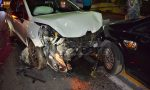 Drammatico schianto frontale sull'Aurelia a Bordighera: 2 feriti