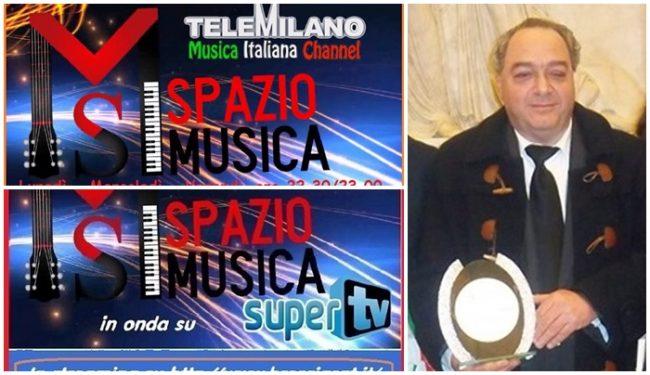 Spazio Musica, il format Tv ideato e prodotto dal ventimigliese Francesco Lacalamita