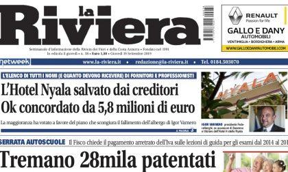L'incubo per 28mila patentati in provincia e i prezzi della benzina in tutti i comuni su La Riviera in edicola