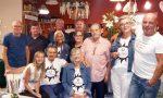 Turiste tedesche tornano a Diano dopo 50 anni per incontrare il vigile Elio. Foto