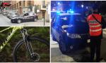 Ladri di biciclette minorenni beccati dai Carabinieri dopo furto di una mountain bike