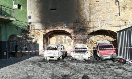 Rogo di auto a Perinaldo, le fiamme partite dalla Panda di un'infermiera