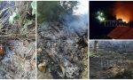 Brucia il Beodo a Sasso, le fiamme spente alle 2, oggi la bonifica