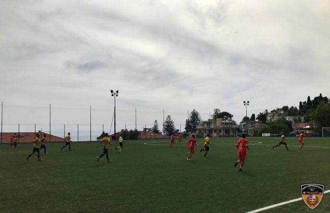 Ospedaletti sconfitto in casa dalla Cairese 1-2