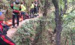 Mobilitazione di soccorsi per un 30enne caduto nel torrente Barbaira a Rocchetta