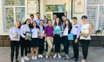 Consegnati i libri in esubero di Bordighera a un liceo della Moldavia