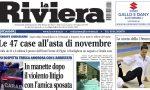 """Le 47 case all'asta di novembre e il giallo della """"tresca"""" a Diano su La Riviera in edicola"""