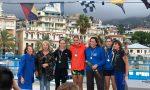 Atleti da sei stati a Sanremo per l'ultima prova del campionato di Costal Rowing