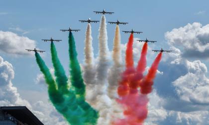Le Frecce Tricolori tornano nel cielo di Imperia