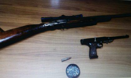 Badalucco, sequestrata carabina e munizioni non regolari