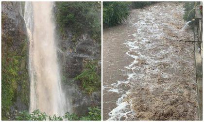 Maltempo: a Pigna esondati piccoli corsi d'acqua
