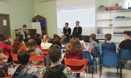 I Carabinieri alla Scuola Pastonchi di Taggia