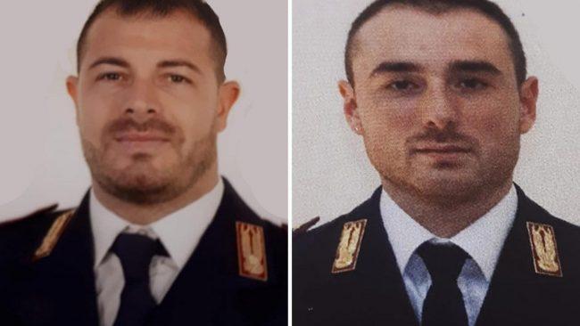 L'omaggio della Polizia di Stato  di Imperia ai colleghi uccisi durante la sparatoria a Trieste
