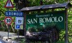 Chiusa al traffico la strada per San Romolo