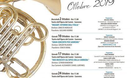 Domani al Casinò il Gran Concerto per Sanremo