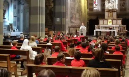 Ventimiglia: una messa a Sant'Agostino per i bambini della scuola Santa Marta