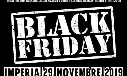 La lista dei negozi aderenti al Black friday imperiese