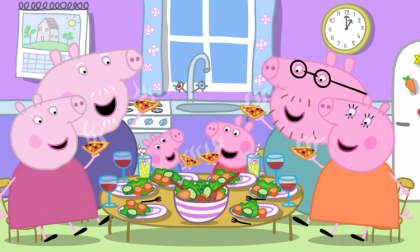 Un sorriso per i bambini? Lo porta Peppa Pig