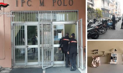 Ventimiglia: blitz dei carabinieri a scuola, hascisc nascosto nei termosifoni