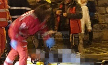 Donna investita da uno scooter a Sanremo