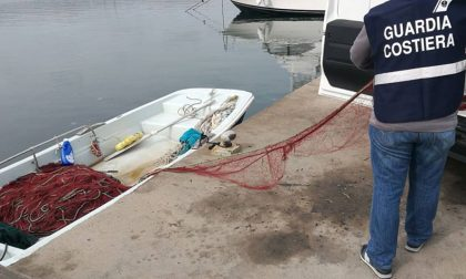 Rubano 350 metri di reti da pesca al porto di Sanremo, denunciati
