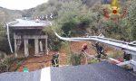 Crolla porzione di viadotto sulla Torino-Savona
