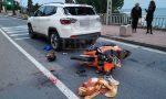 Sanremo: schianto sull'Aurelia ai Tre Ponti, gravissimo un 27enne