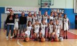 Blue Ponente Basket, le ragazze dell'Under 14 terze al Trofeo Lanterna