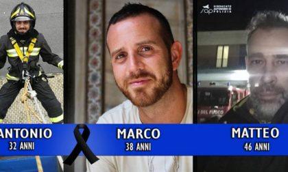 Vigili del fuoco morti nell'Alessandrino: il cordoglio della Liguria