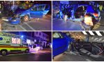 Schianto in auto sull'Aurelia: grave una 17enne a Bordighera