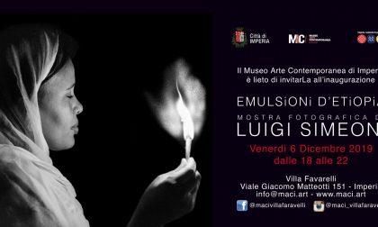 Il MCI Imperia inaugura la mostra fotografica di Luigi Simeoni venerdì 6 dicembre