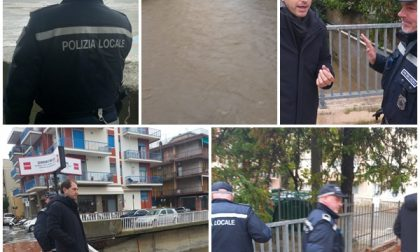 """Corsi d'acqua ingrossati a Diano Marina. Il vicesindaco: """"Situazione sotto controllo ma non abbassiamo la guardia"""""""