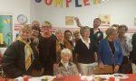 Santina, ex segretaria d'azienda, ha festeggiato 104 anni