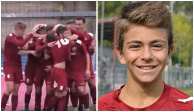 Calcio Promozione –  Ventimiglia ritrova sorriso, goleada e un nuovo baby talento