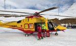 Scivolano sul ghiaccio: infortunati 2 escursionisti a Monesi