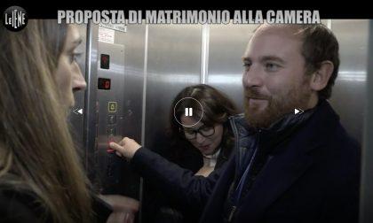 """I promessi sposi Flavio ed Elisa finiscono su """"Le Iene"""". Video"""