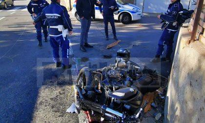 Drammatico schianto a Sanremo, gravissimo motociclista