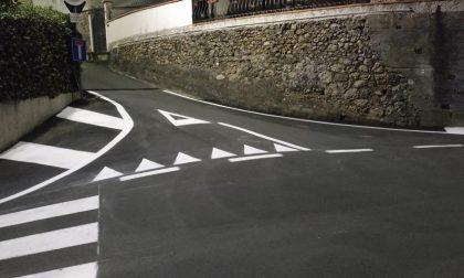 Nuove strisce pedonali in 54 punti di Ventimiglia