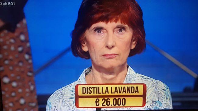 """Rita Cugge e la sua lavanda tra i """"Soliti Ignoti"""" di Rai Uno"""