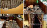 Crolla soffitto in testa a una donna a Ventimiglia. Foto