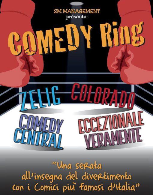 Comedy Ring al teatro Salvini