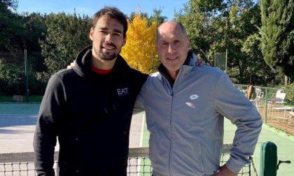 Corrado Barazzutti nuovo coach di Fabio Fognini