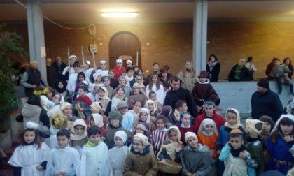 Bambini protagonisti del Presepe Vivente a San Martino. Le foto