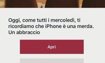 """""""Ti ricordiamo che iPhone è una m…"""" Attacco hacker a catena ristoranti"""