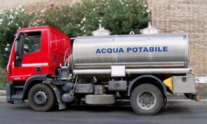 Emergenza idrica a Taggia, arrivano 3 autocisterne