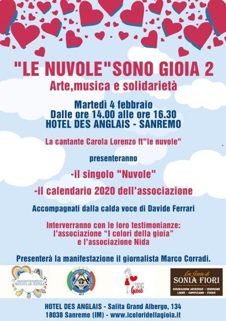 Carola Lorenzo e Le Nuvole ospiti al Des Anglais